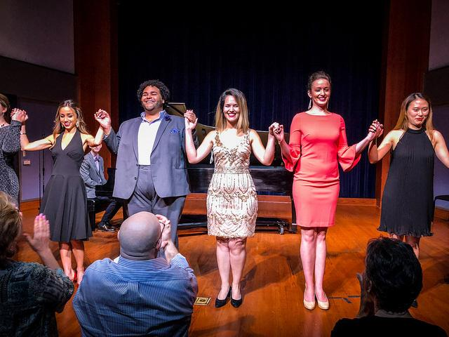 Brooklyn Snow, Elliott Paige, Maria Brea, Kelsy Robertson and Sooyeon at Palm Beach Opera